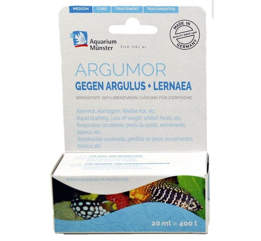 Aquarium Münster Argumor - tegen wormen en andere parasieten (20ml)
