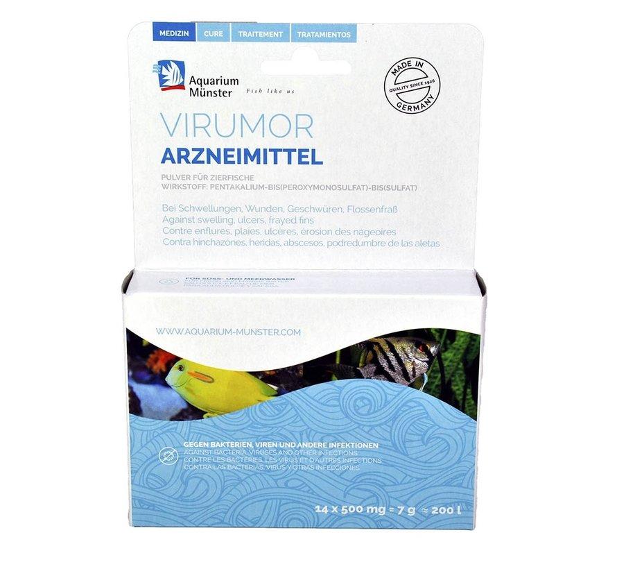Aquarium Münster Virumor - tegen bacteriële infecties (14x 500mg)