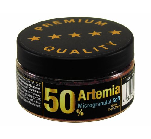 Discusfood Discusfood 50% Artemia Microgranulate Soft (45 gram)