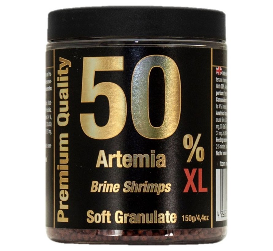 Discusfood 50% Artemia Soft Granulate XL (150 gram)