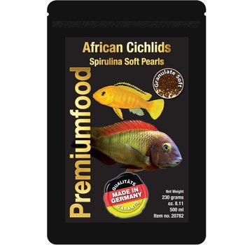 Discusfood Discusfood African Cichlids Spirulina Pearls (80 gram)
