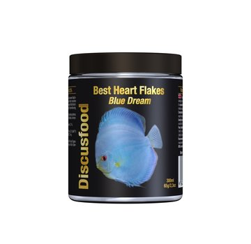 Discusfood Discusfood Best Heart Flakes Blue Dream (65 gram)