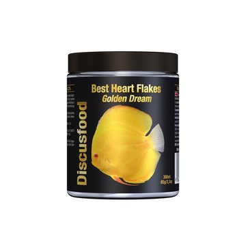 Discusfood Discusfood Best Heart Flakes Golden Dream (65 gram)