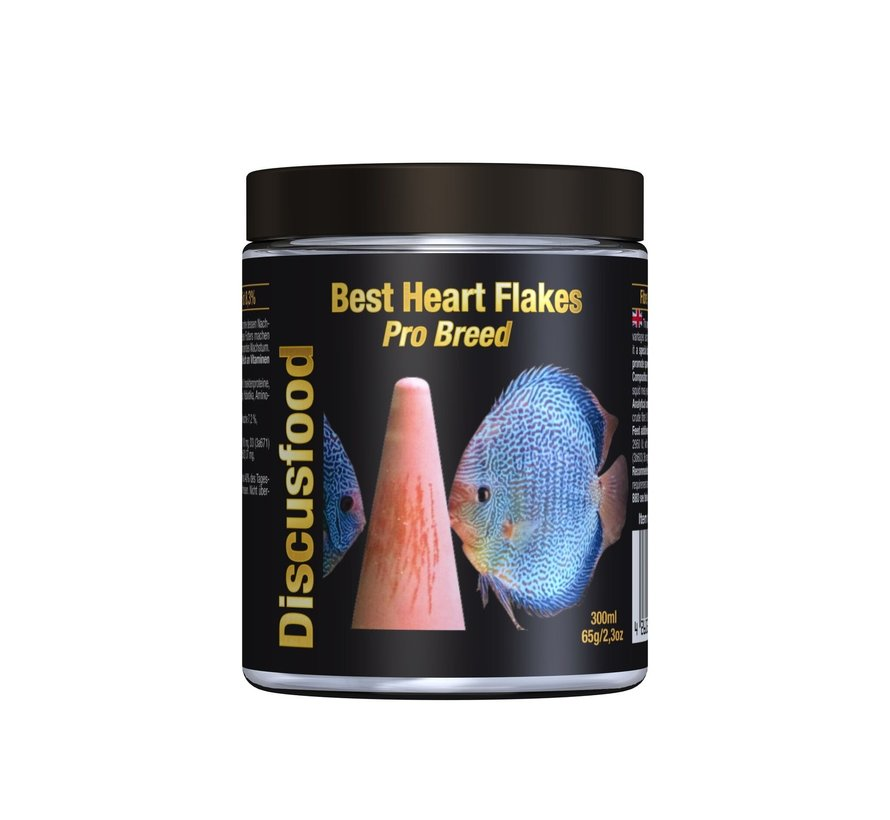 Discusfood Best Heart Flakes Pro Breed (65 gram)