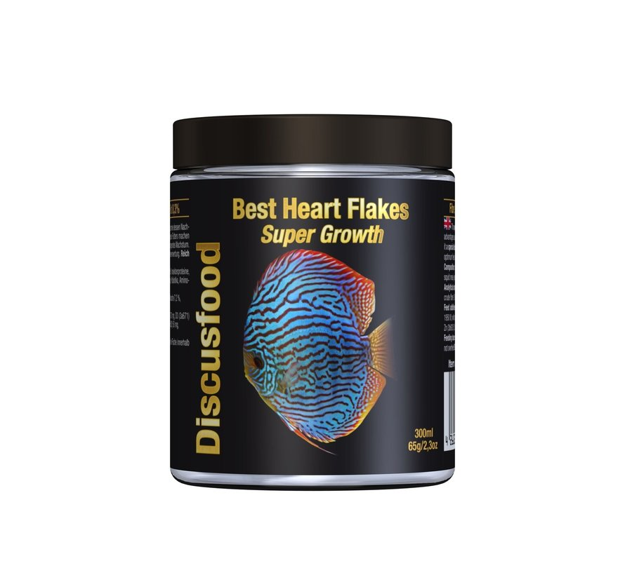 Discusfood Best Heart Flakes Super Growth (65 of 180 gram)