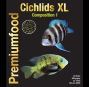 Discusfood Discusfood Cichlids XL granulaat Nr1 - Herbivoor (500 gram)