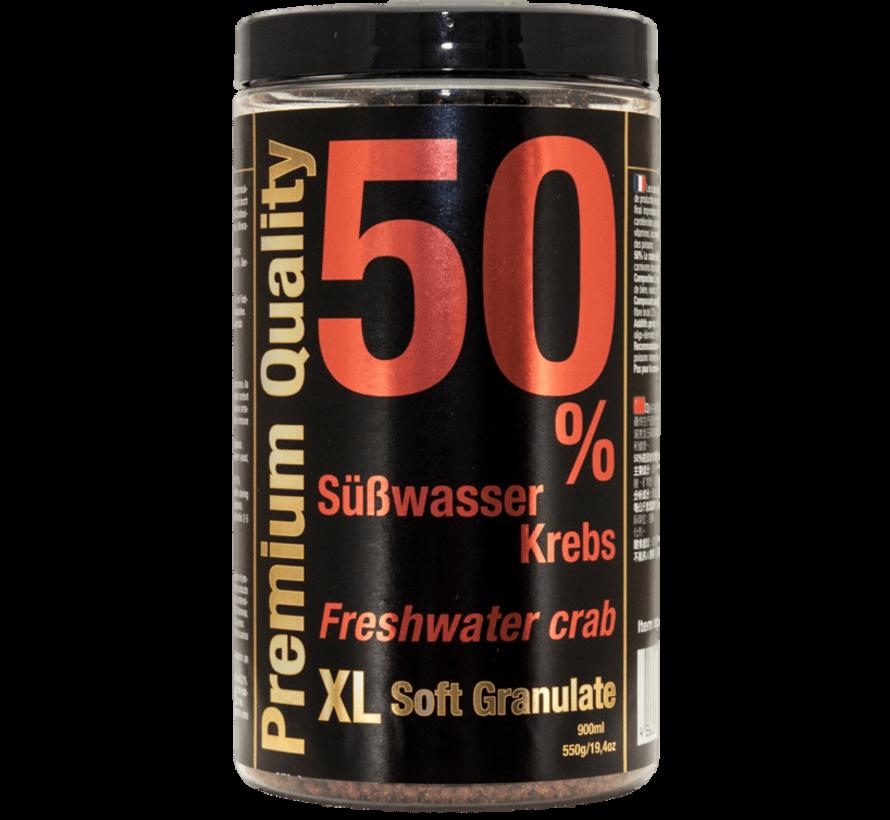 Discusfood Freshwater Crab 50% XL Softgranulate (550 gram)