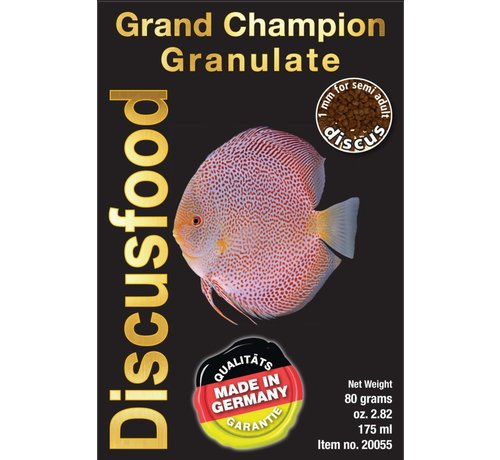 Discusfood Discusfood Grand Champion Granulate (80 of 230 gram)