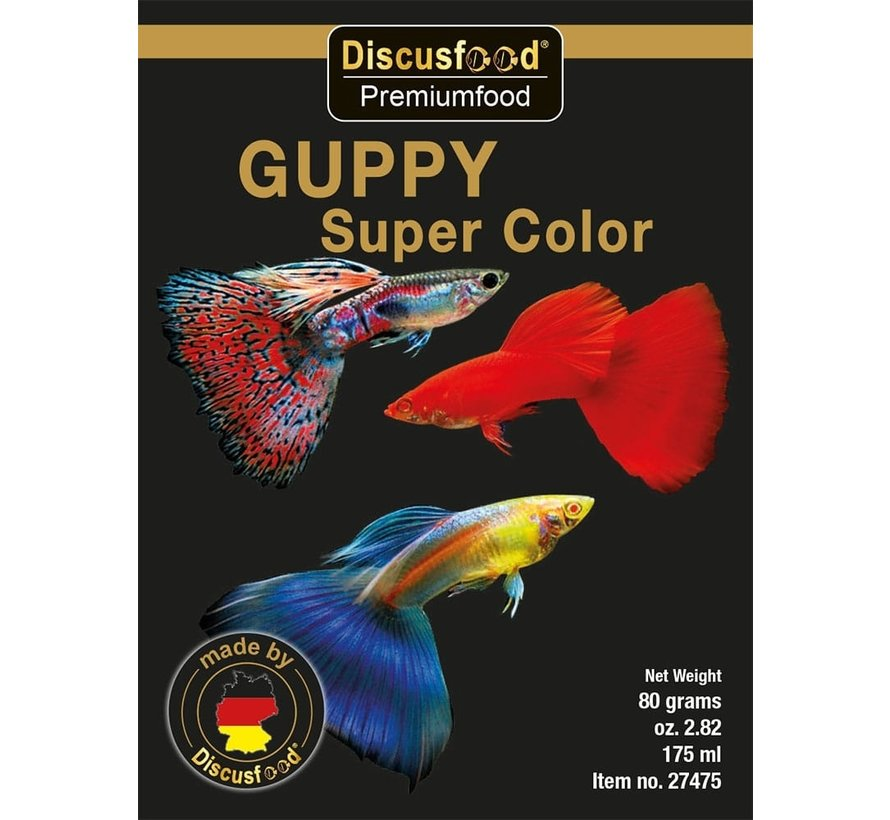 Discusfood Guppy Super Color Soft (80 gram)