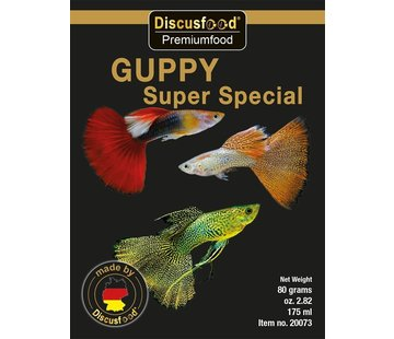 Discusfood Discusfood Guppy Super Special Soft (80 gram)