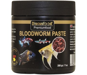 Discusfood Discusfood Paste Bloodworm (200 gram)