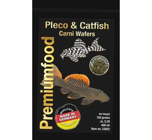 Discusfood Discusfood Pleco & Catfish Carni Wafers (50 of 150 gram)
