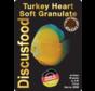 Discusfood Turkey Heart Soft Granulat (80 of 230 gram)