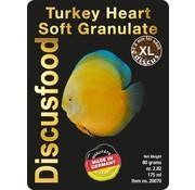 Discusfood Discusfood Turkey Heart Soft Granulat XL (80 gram)