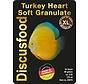 Discusfood Turkey Heart Soft Granulat XL (80 gram)