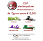 CSF starterpakket garnalenvoer