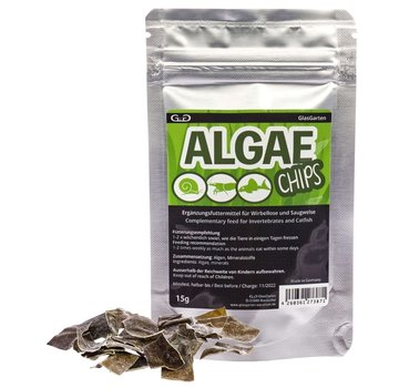 GlasGarten GlasGarten Algen Chips 15g