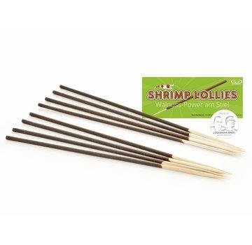 GlasGarten GlasGarten Shrimp Lollies - Walnoot Sticks 8 stuks