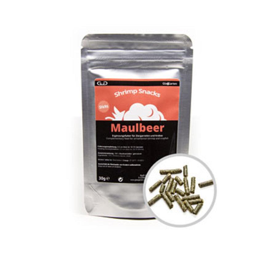 GlasGarten Shrimp Snacks Maulbeer - Moerbei (30 gram)