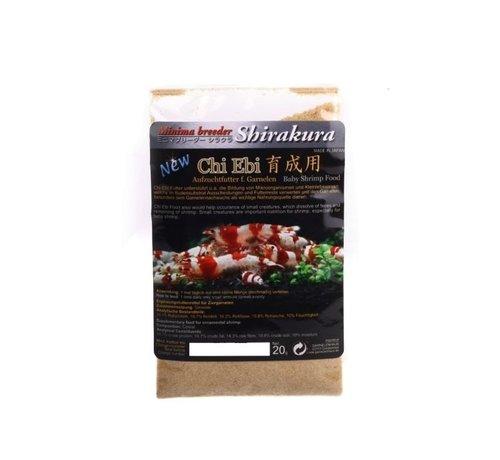 Shirakura Shirakura Chi Ebi - opkweekvoer (20 gram)