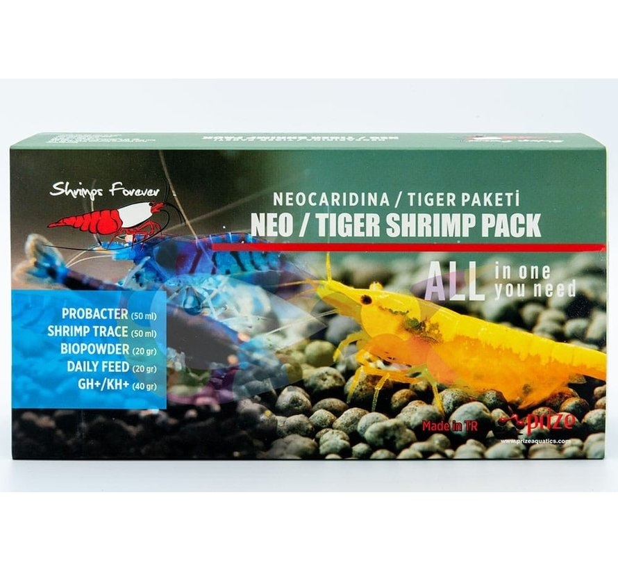 Shrimps Forever Neo/ Tiger Shrimp Pack