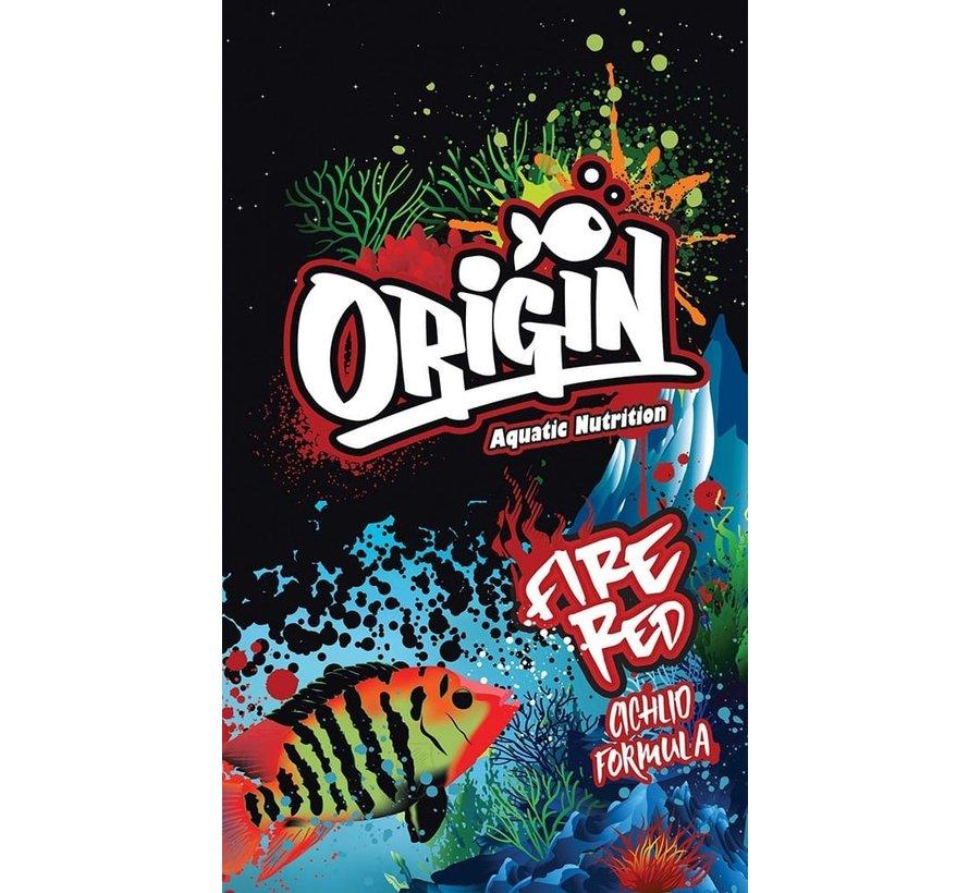Origin Aquatic Nutrition Fire Red Cichlid Formula