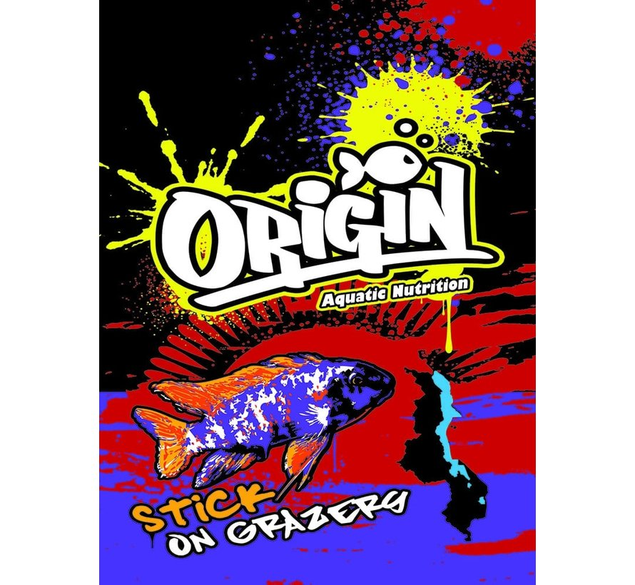 Origin Aquatic Nutrition Stick on Grazers