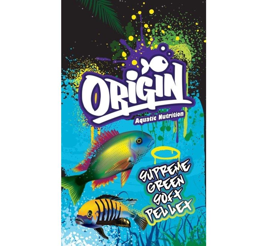 Origin Aquatic Nutrition Supreme Green Soft Pellet