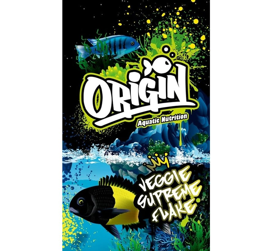 Origin Aquatic Nutrition Veggie Supreme Flake
