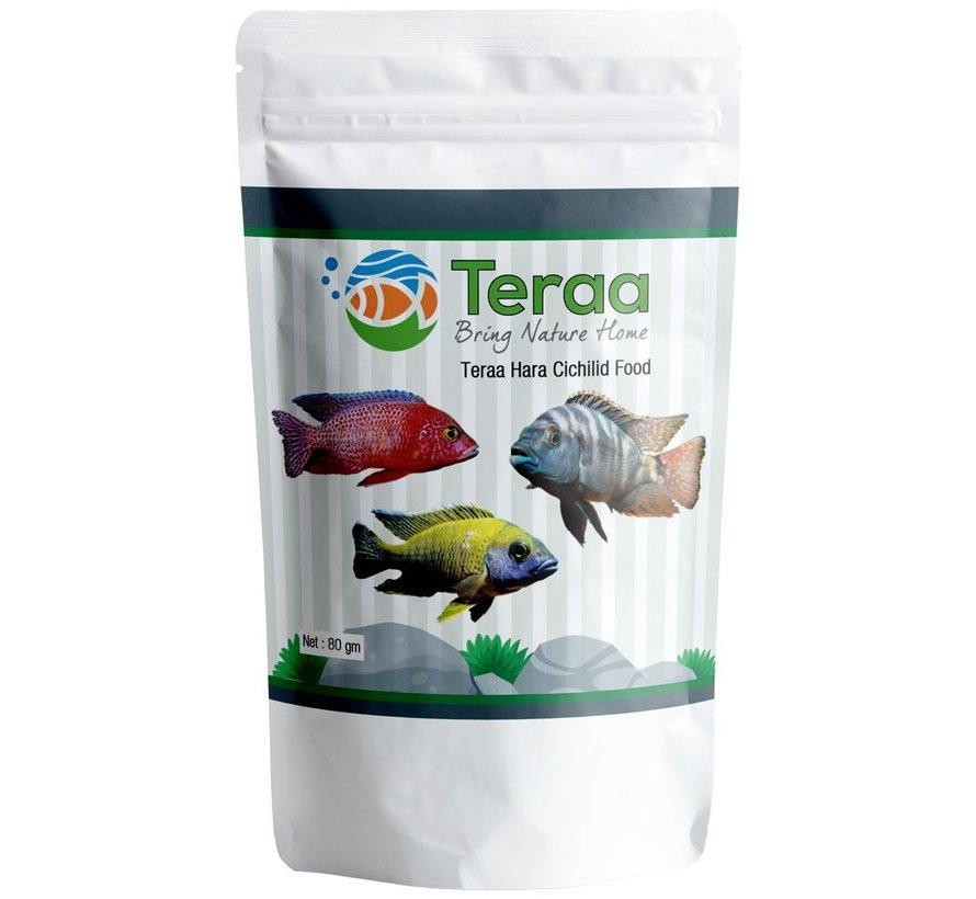 Teraa Hara Cichlid Food - Plantaardig Cichliden voer