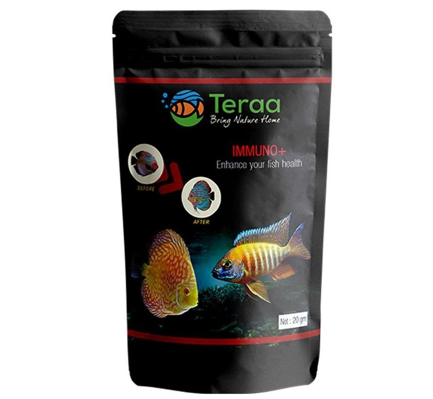 Teraa Immuno+ - premium visvoer voor alle vissoorten