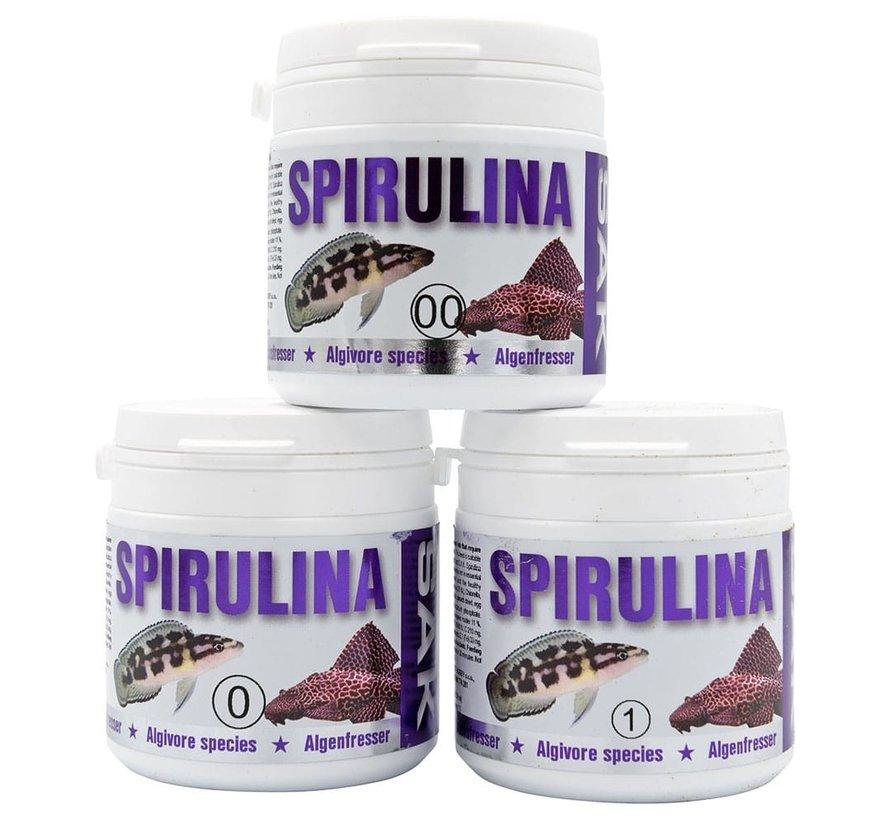 S.A.K. Spirulina  - speciaal Spirulina voer
