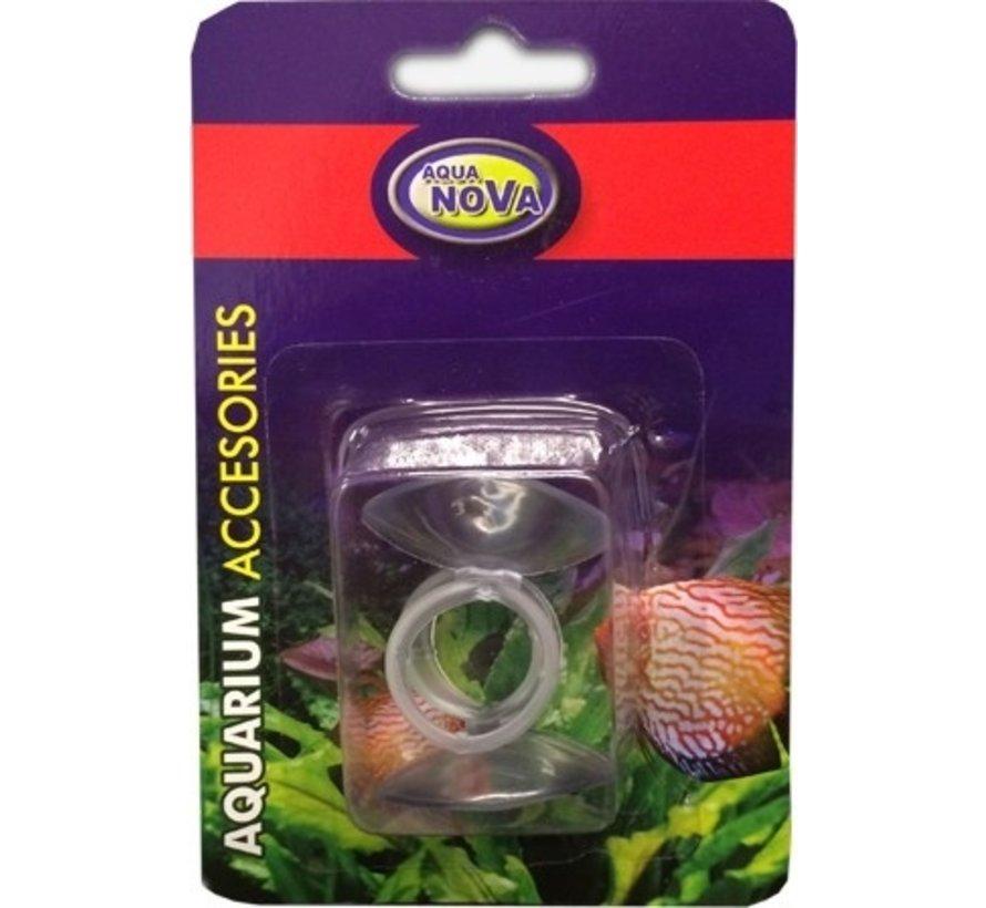 Aqua Nova 2x zuignap 12-16mm voor slangen