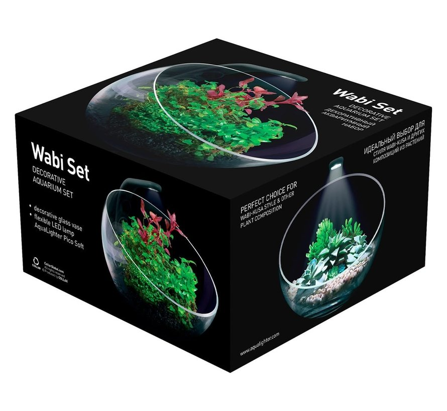 AquaLighter Wabi-kusa Set