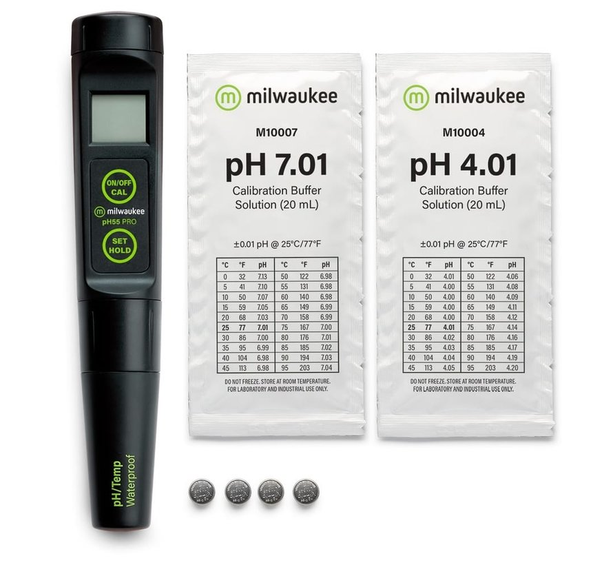 Milwaukee PH55-PRO digitale pH + temperatuur meter
