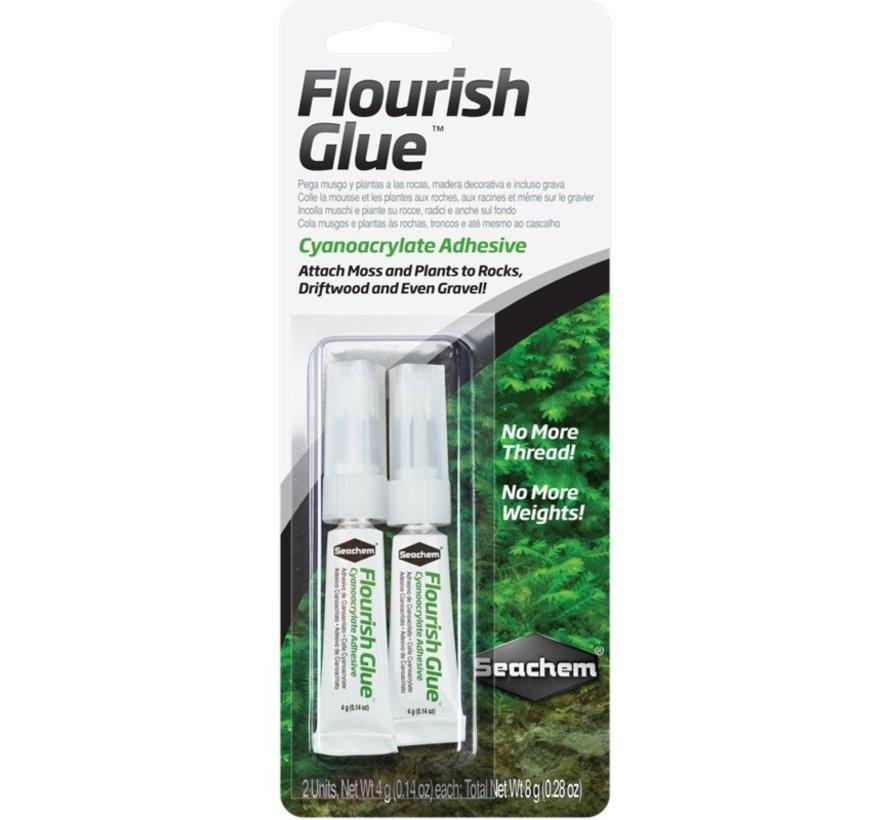 Seachem Flourish Glue 2x 4 gram - secondelijm