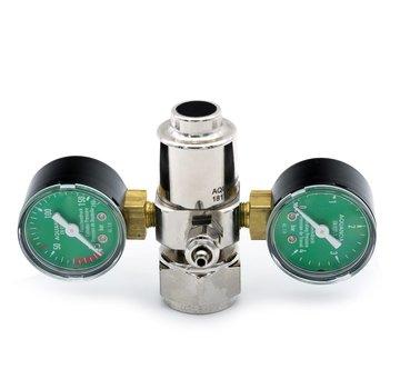 Aqua-Noa Aqua-Noa CO2 drukregelaar BASIC met 2 manometers en naaldventiel