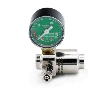 Aqua-Noa Aqua-Noa CO2 drukregelaar BASIC voor wegwerpflessen met 1 manometer en naaldventiel