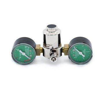Aqua-Noa Aqua-Noa CO2 drukregelaar BASIC voor wegwerpflessen met 2 manometers en naaldventiel