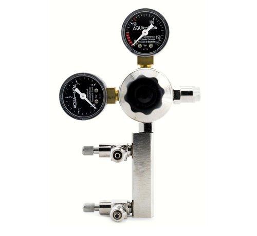Aqua-Noa Aqua-Noa CO2 Drukregelaar PROFI 2in1 met 2 aansluitingen en 2 manometers