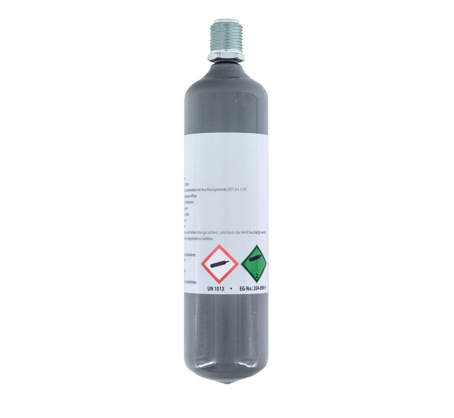 Aqua-Noa CO2 wegwerpfles Nano-line 95g (gevuld)