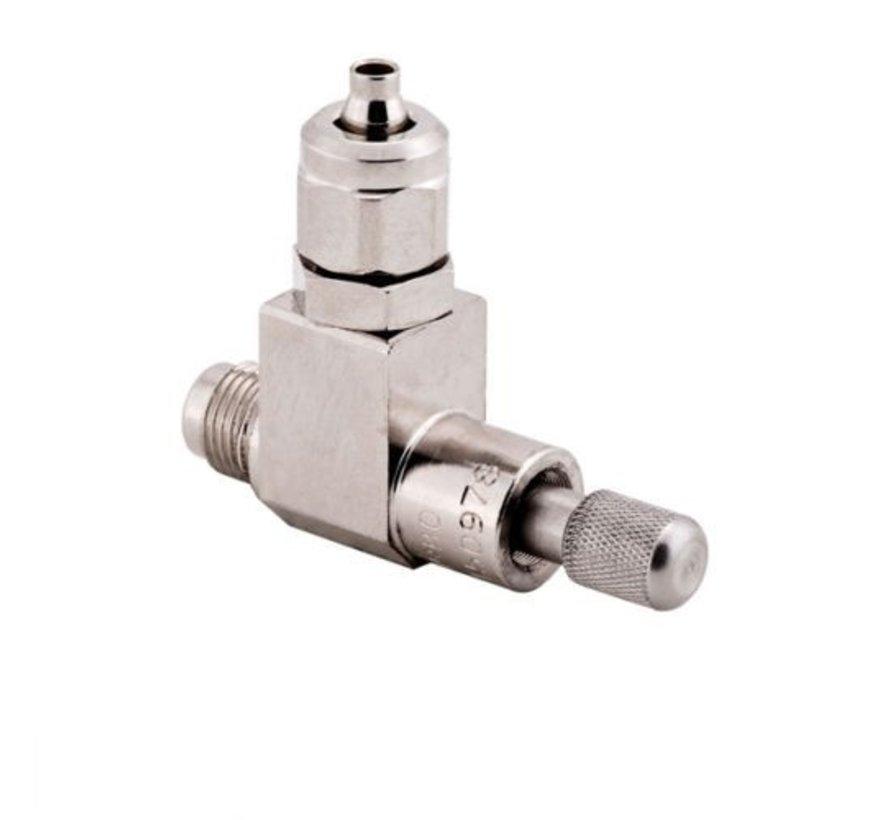 """Aqua-Noa professioneel naaldventiel voor drukregelaar met draad 1/8"""""""