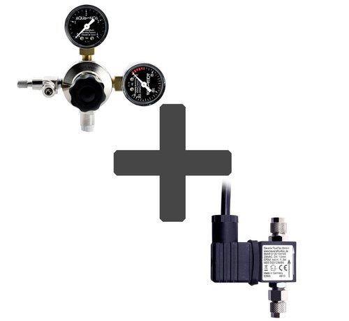 Aqua-Noa CO2 drukregelaar + CO2 magneetventiel