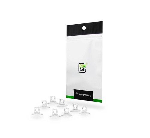 CO2Art CO2Art 8x hoge kwaliteit zuignap 4/ 6 mm voor slangen en accessoires