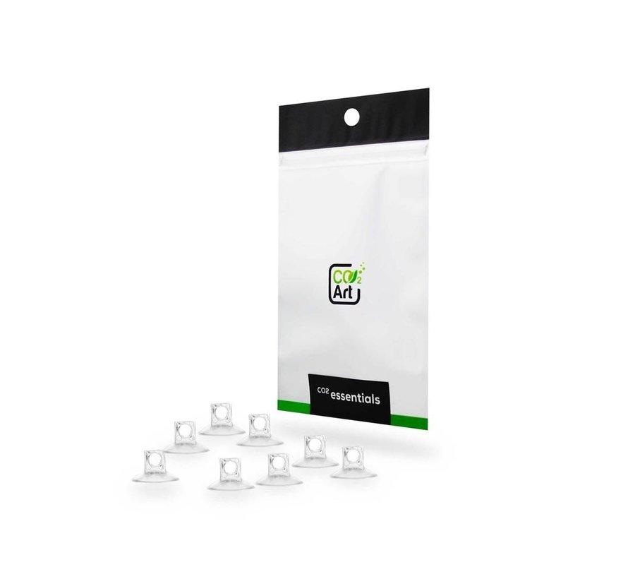 CO2Art 8x hoge kwaliteit zuignap 4/ 6 mm voor slangen en accessoires
