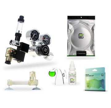 CO2Art CO2Art Flux_ CO2 set PRO-SE Dual Stage drukregelaar