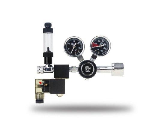 CO2Art CO2Art PRO-SE Dual Stage CO2 drukregelaar met geïntegreerd magneetventiel