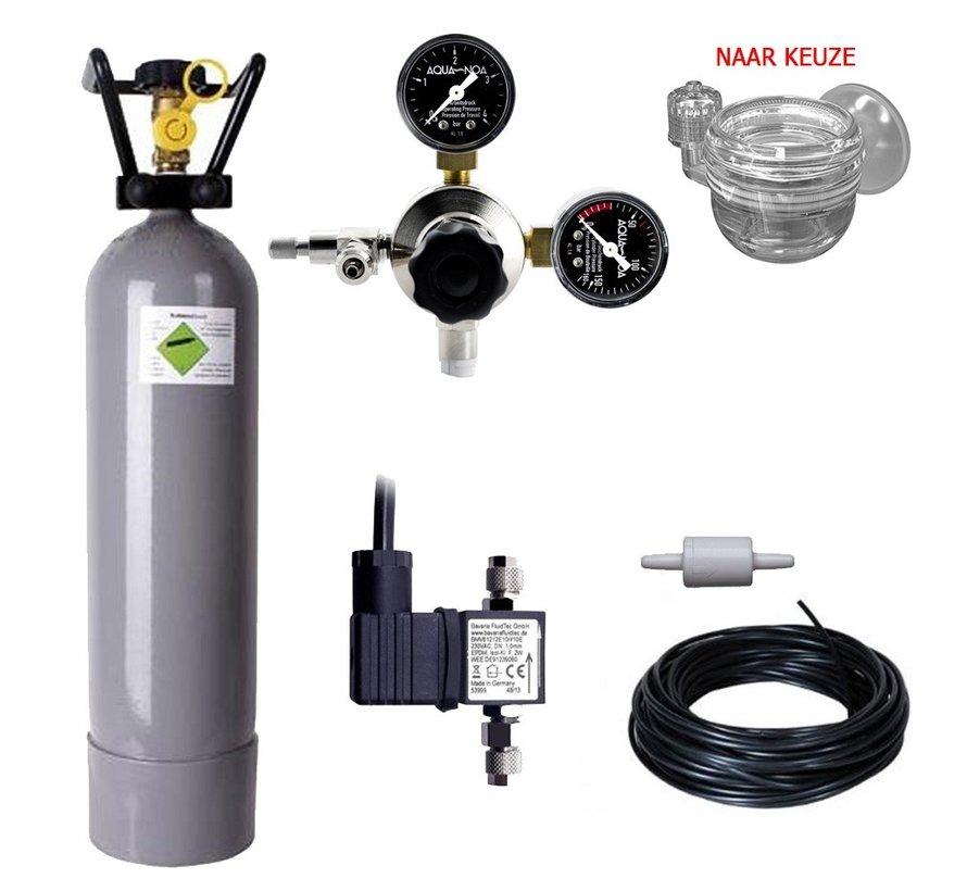 Complete CO2 set PROFI 2000 gram