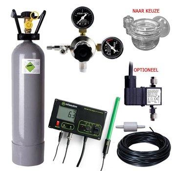 de Visvoer WebWinkel Complete CO2 set PROFI 2000 gram met pH controller