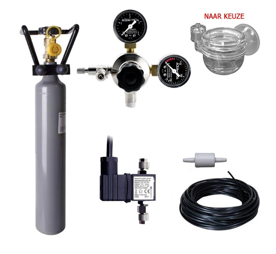 Complete CO2 set PROFI 500 gram